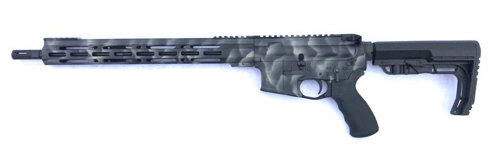 exo rifle blk and tan camo