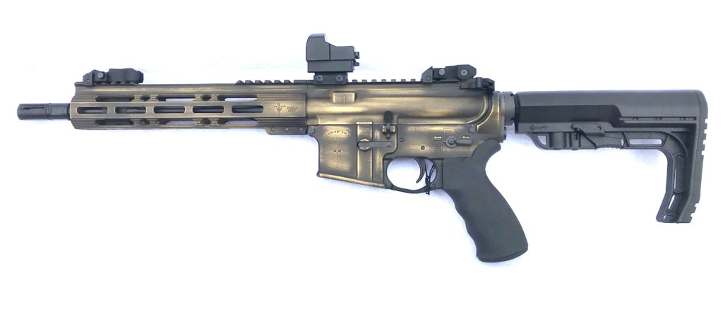 exo sbr gold and blk bw